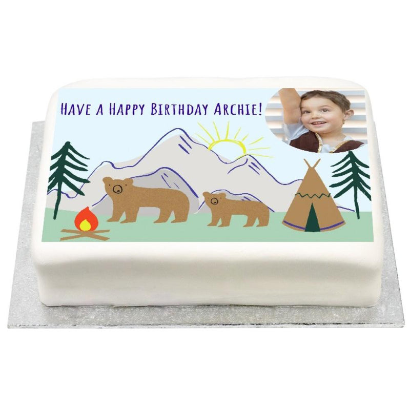 Personalised Photo Cake - Let's Explore