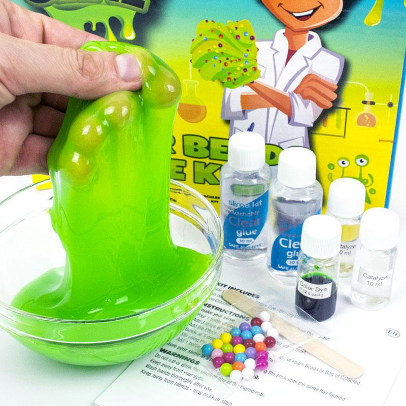 Large DIY Slime Set Colour Colour Beads