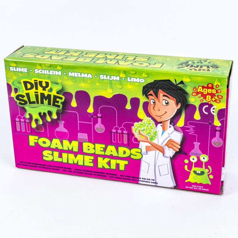 Medium DIY Slime Set Foam Beads