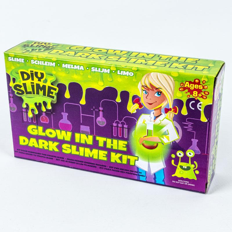 DIY Slime Set Glow in the Dark