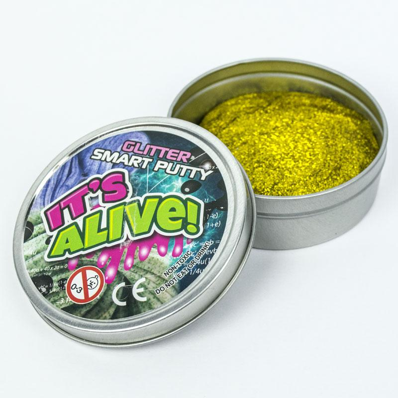 Smart Putty in Tin Box Glitter