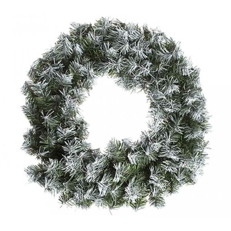 Snowy Christmas Wreath