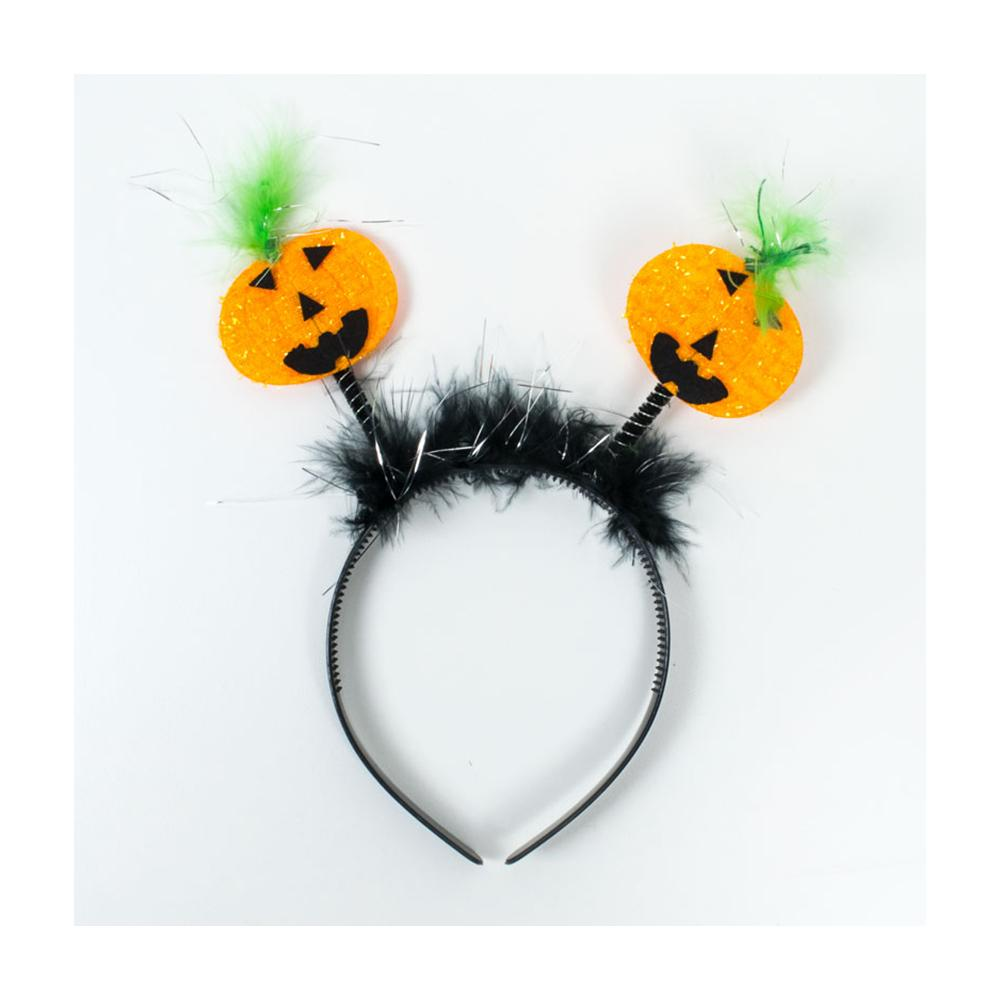 Halloween Head Boppers Pumpkin