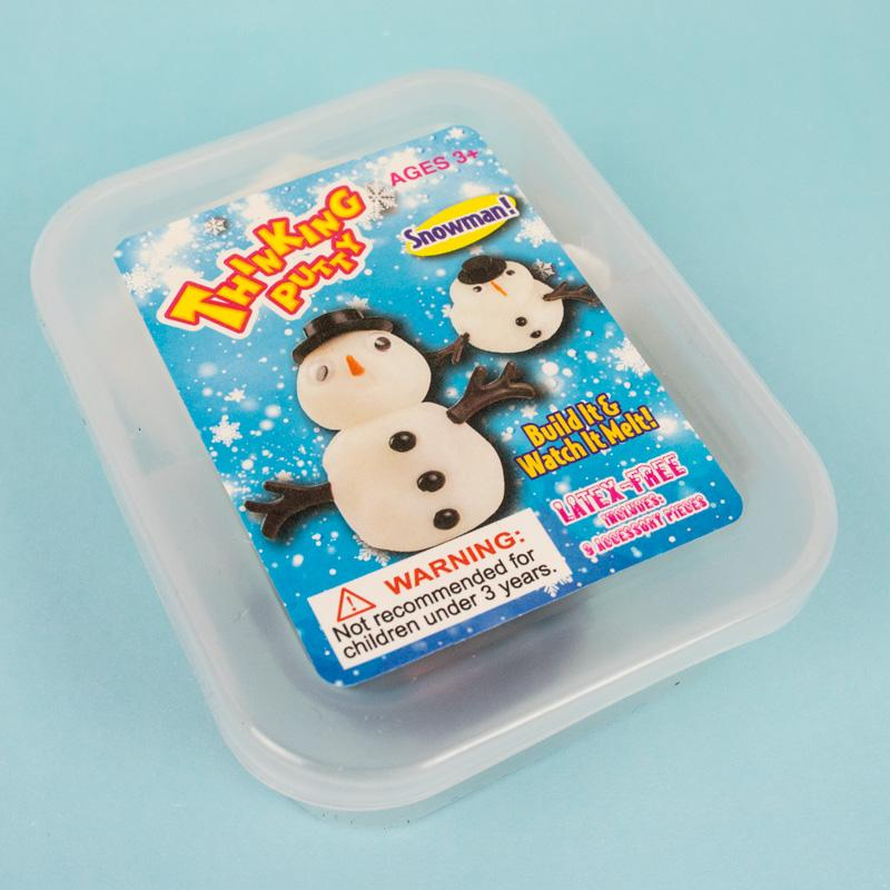Melting Snowman Putty