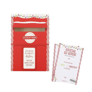 Christmas Behaviour Letter Cards And Post Box