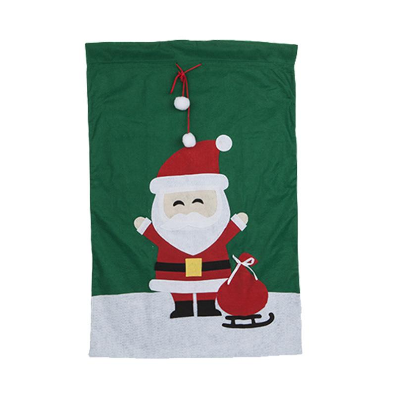 Luxury Felt Christmas Sack Santa