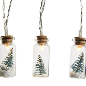 Mini Christmas Tree Jar LED Lights