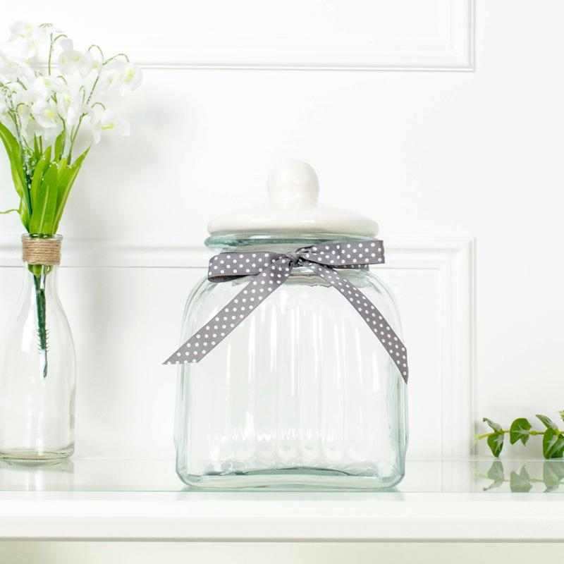 Glass Storage Jar Medium