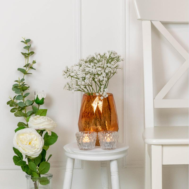 Click to view product details and reviews for Lustre Tea Light Holder Copper.