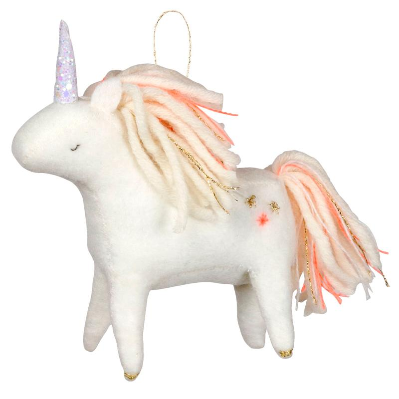 Felt Unicorn Christmas Decoration