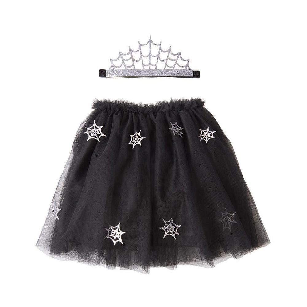 Click to view product details and reviews for Cobweb Tutu And Tiara Halloween Costume.