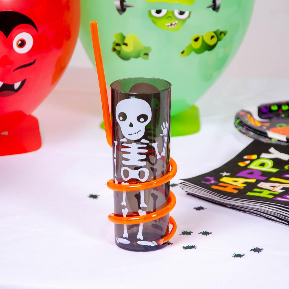 Halloween Character Spiral Straw Tumbler