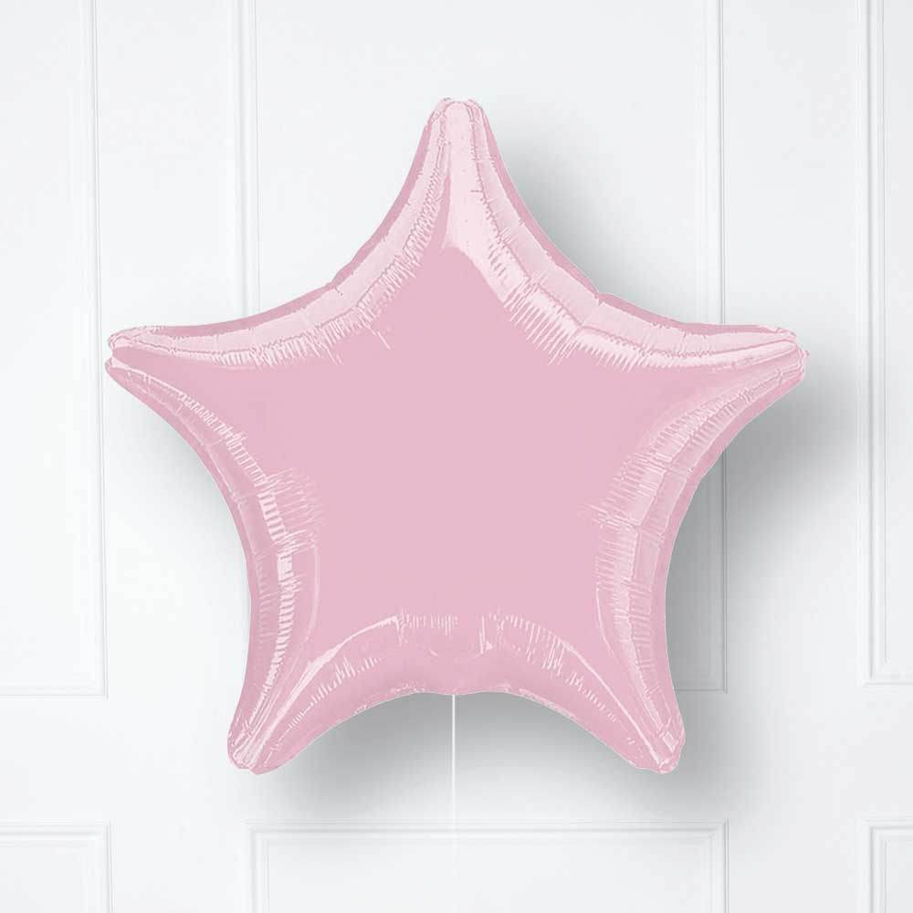 Star Foil Balloon - Pale Pink