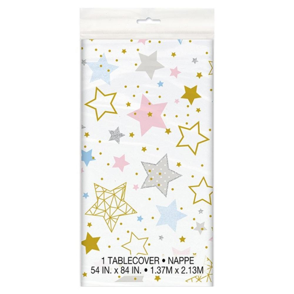Twinkle Little Star Plastic Party Table Cover