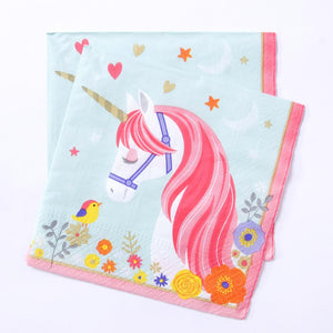 Magical Unicorn - Lunch Napkins (x8)