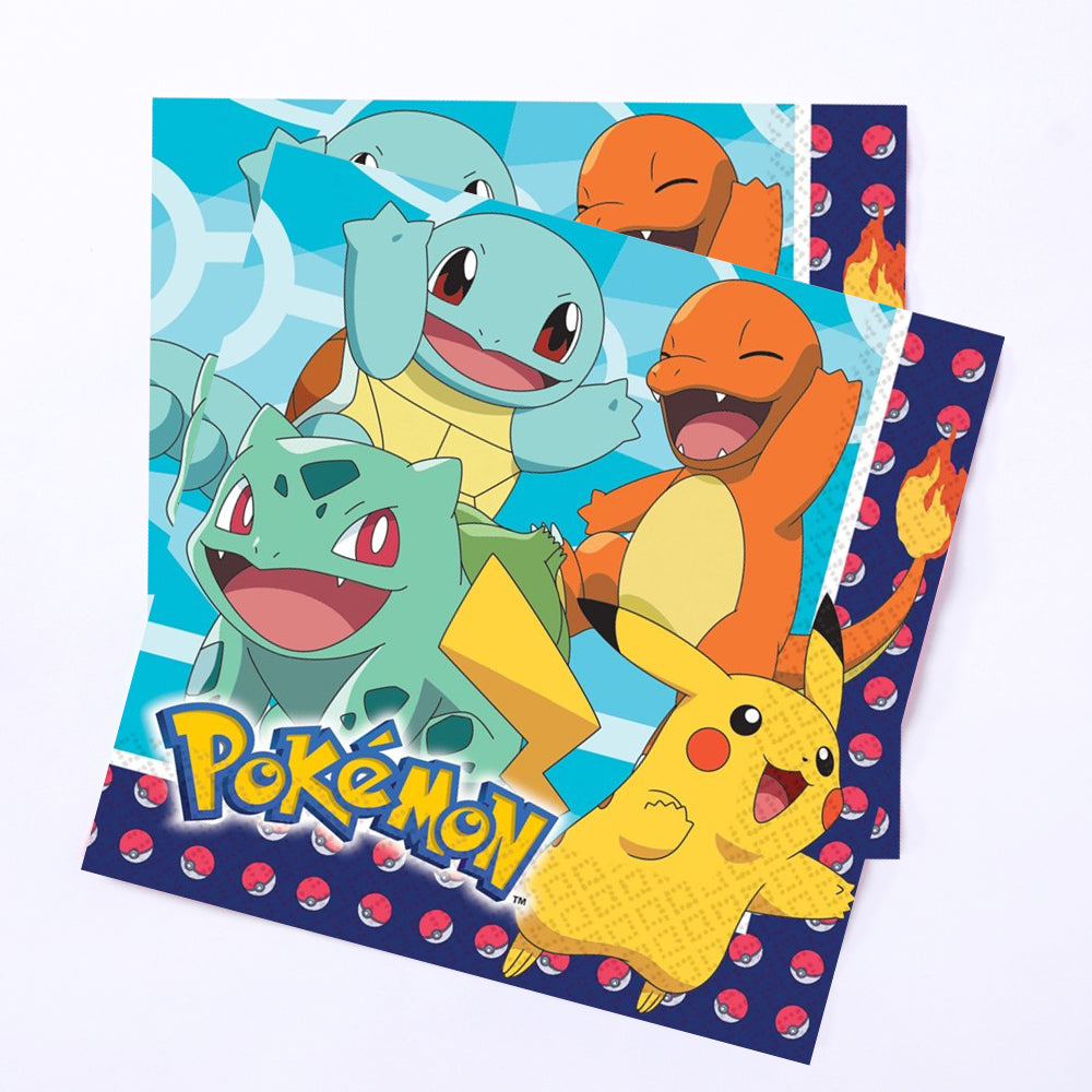 Pokemon Party - Lunch Party Napkins