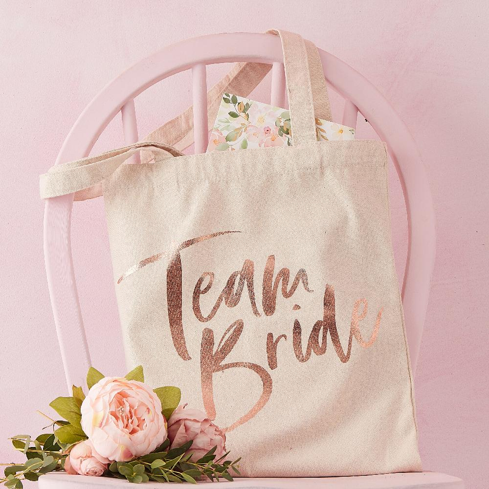 Floral Hen Party - Hen Party Tote Bag