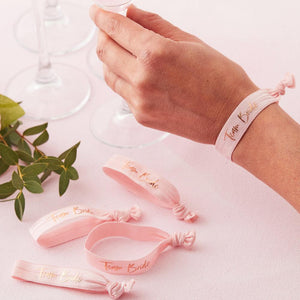 Floral Hen Party - Hen Party Wristbands (x5)