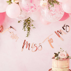 Floral Hen Party - Miss to Mrs Bunting