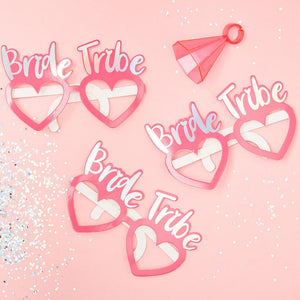 Bride Tribe - Hen Party Glasses (x8)