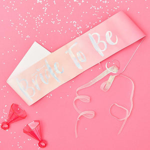 Bride Tribe - Bride-To-Be Sash