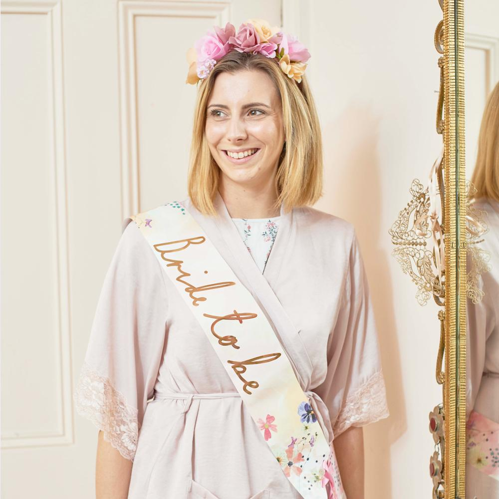 Blossom Girls - Bride To Be Sash