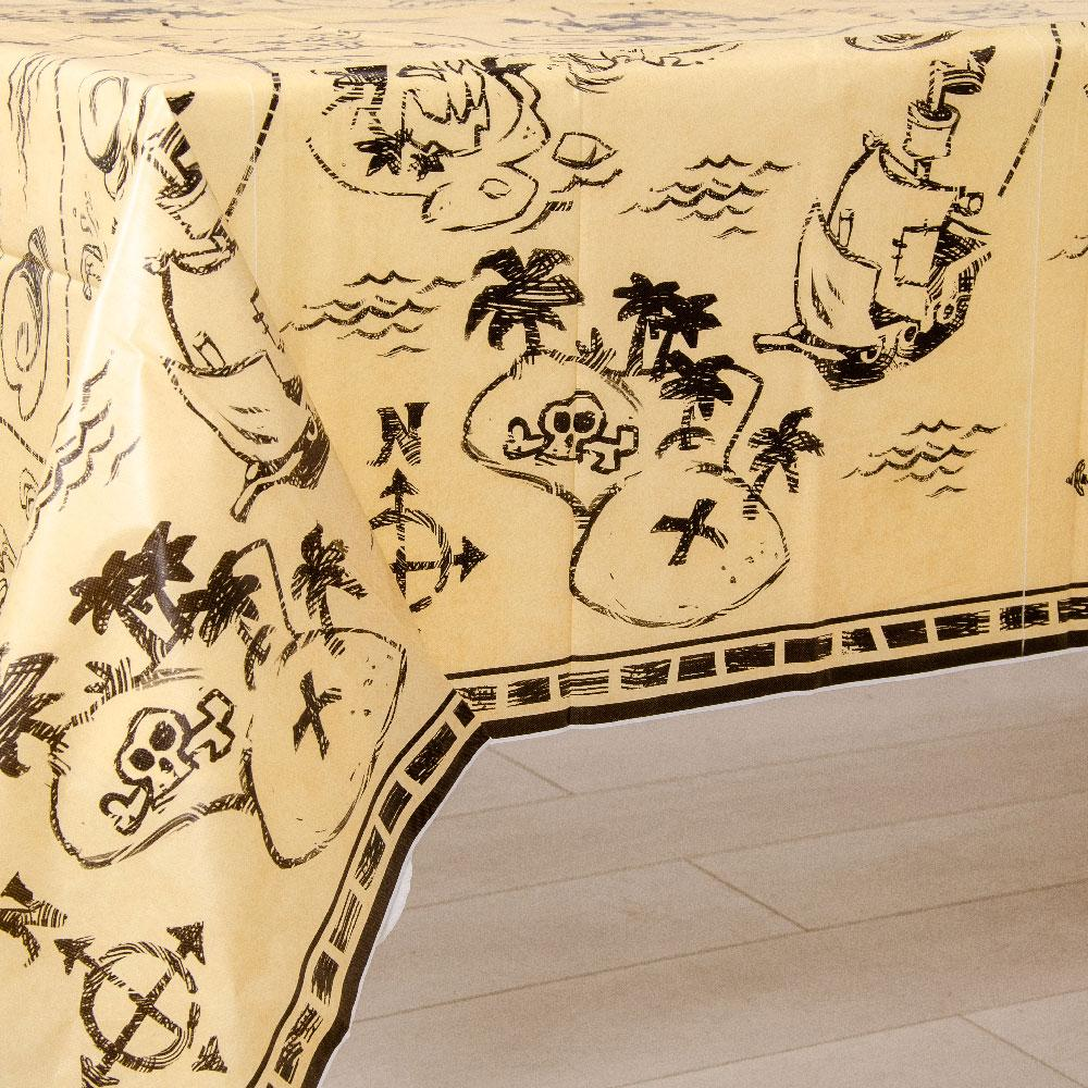Pirate Treasure Treasure Map Table Cover Pirate Party Tableware Pirate Party Ideas Party Pieces