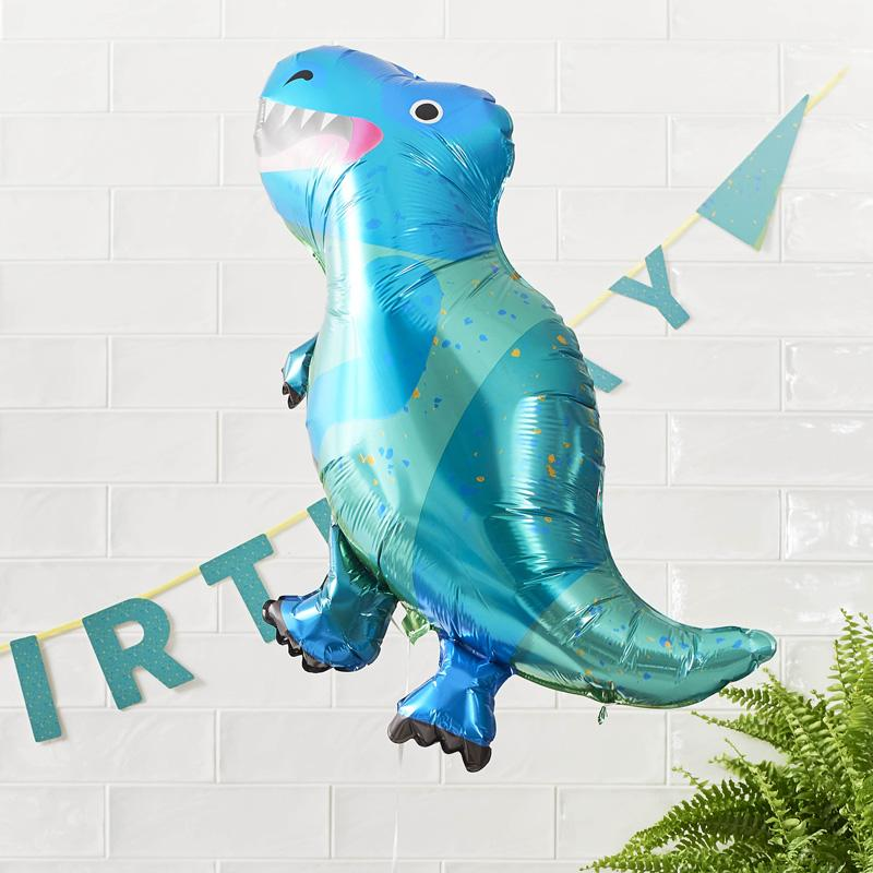 Party Dinosaur - Foil Balloons