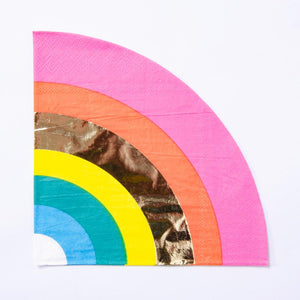 Birthday Brights Rainbow - Rainbow Napkins (x16)