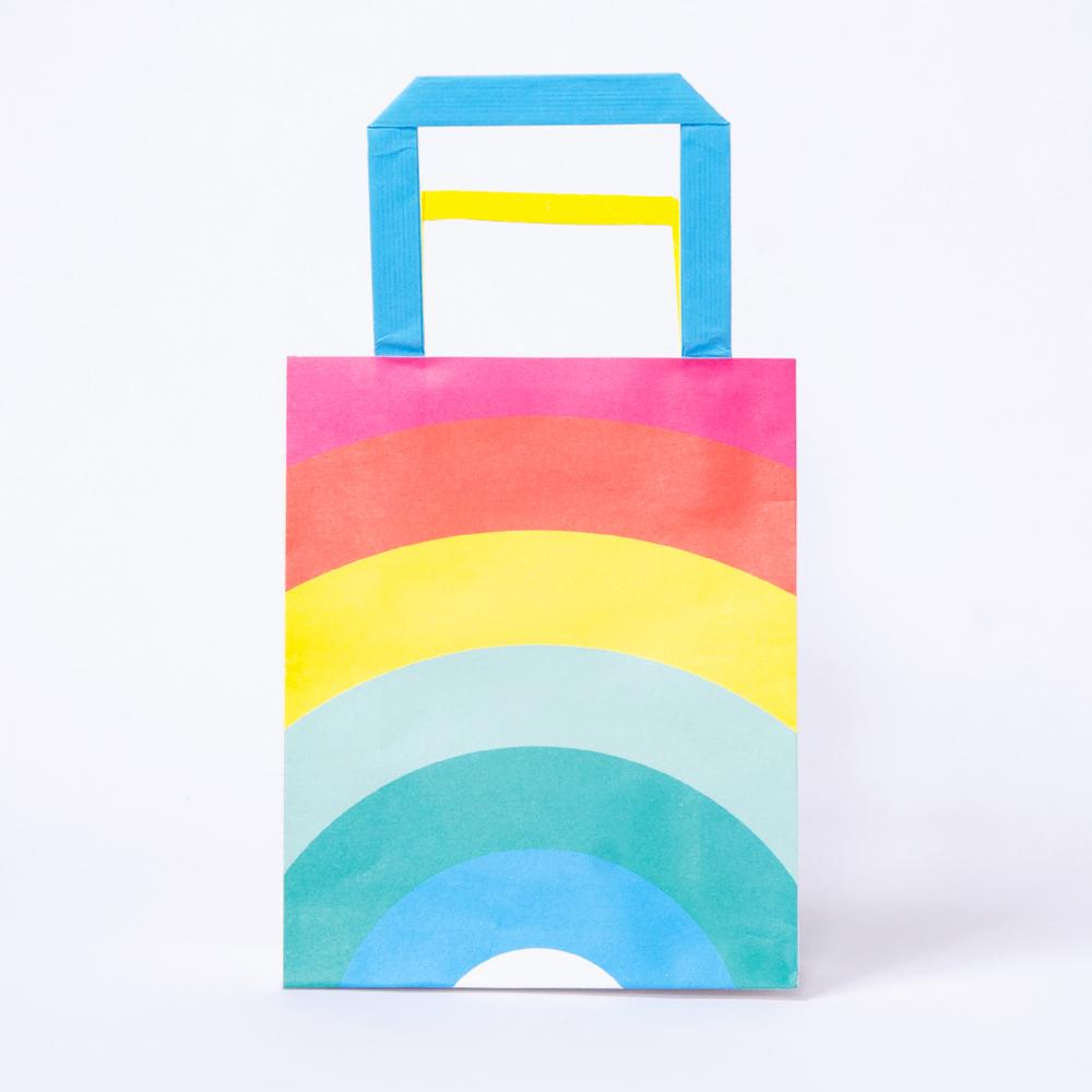 Birthday Brights Rainbow - Party Bags (x8)