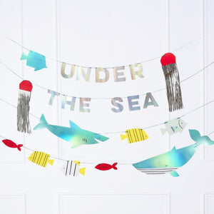 Under The Sea - Party Garland