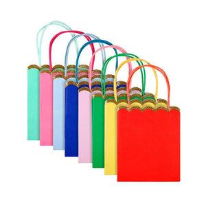 Birthday Brights Rainbow - Scalloped Party Bags (x8)