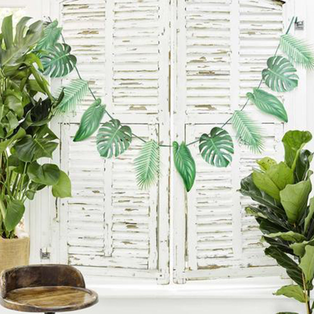 Tropical Palm - Leaf Garland