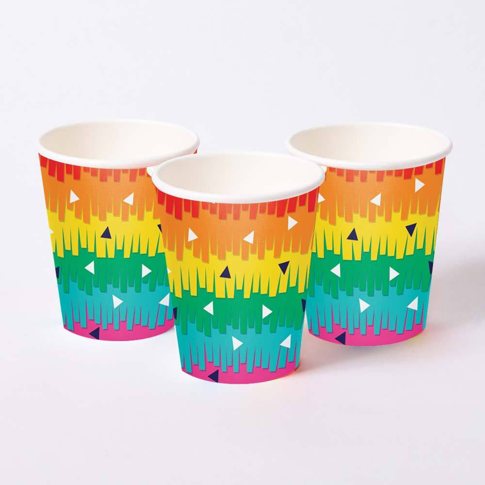 Fiesta Fun - Pinata Party Cups (x8)