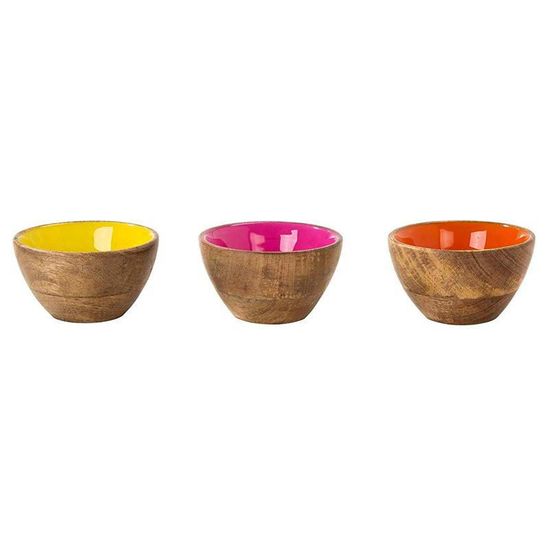 Boho Party - Mango Wood Mini Serving Bowl