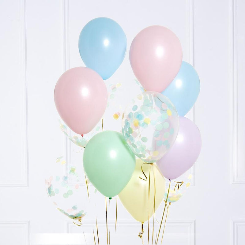 Confetti Balloon Bunch - Pastel