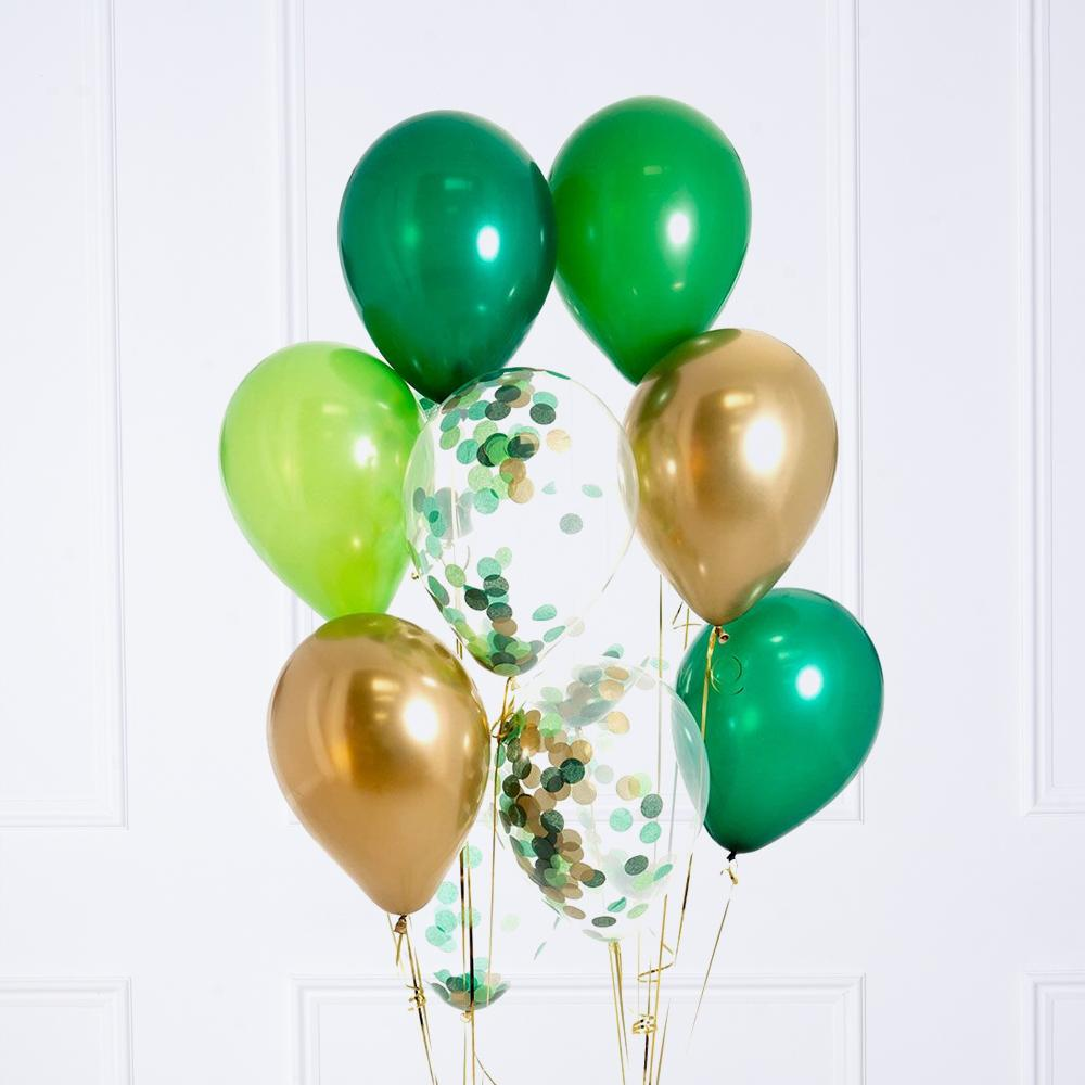 Confetti Balloon Bunch - Jungle