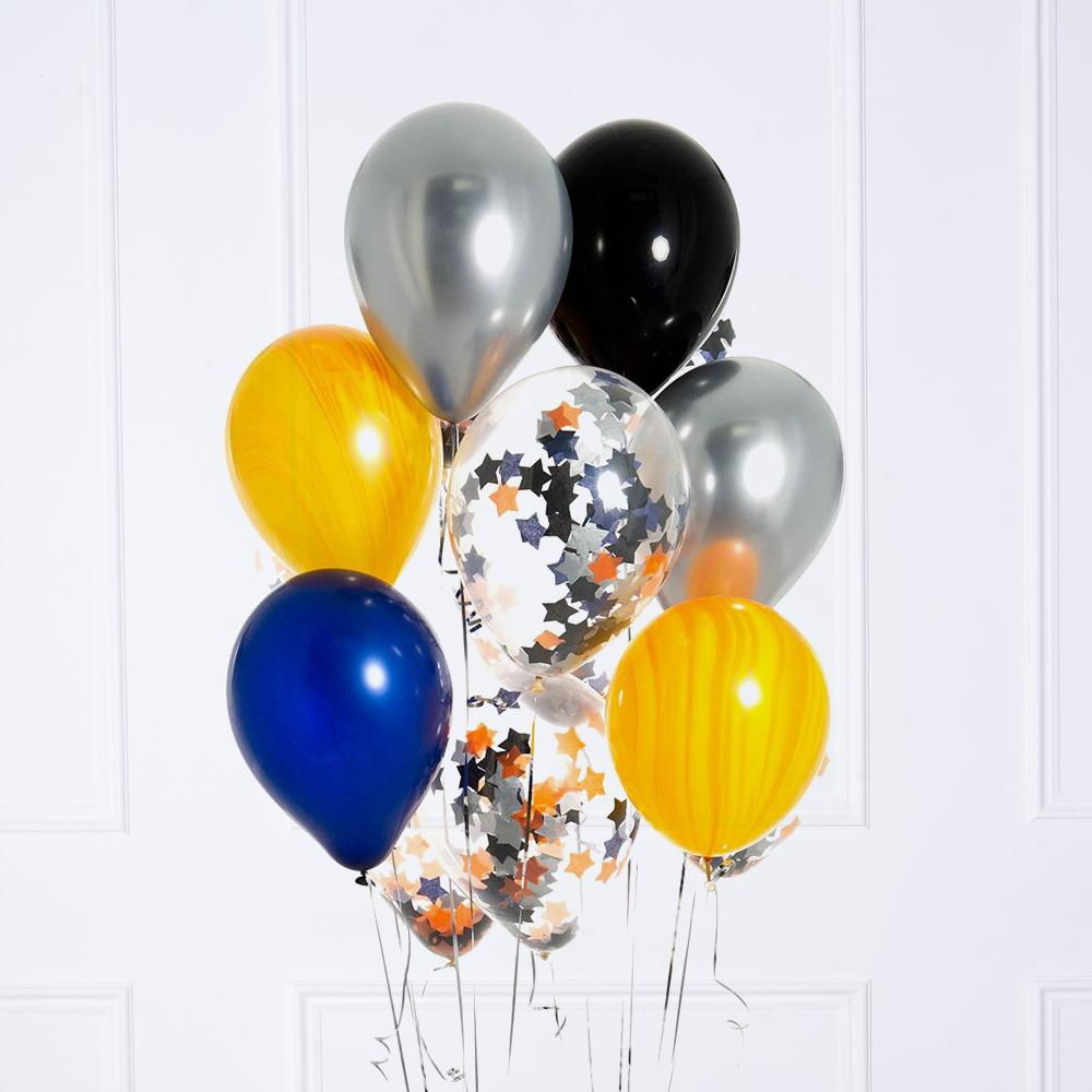 Confetti Balloon Bunch - Space
