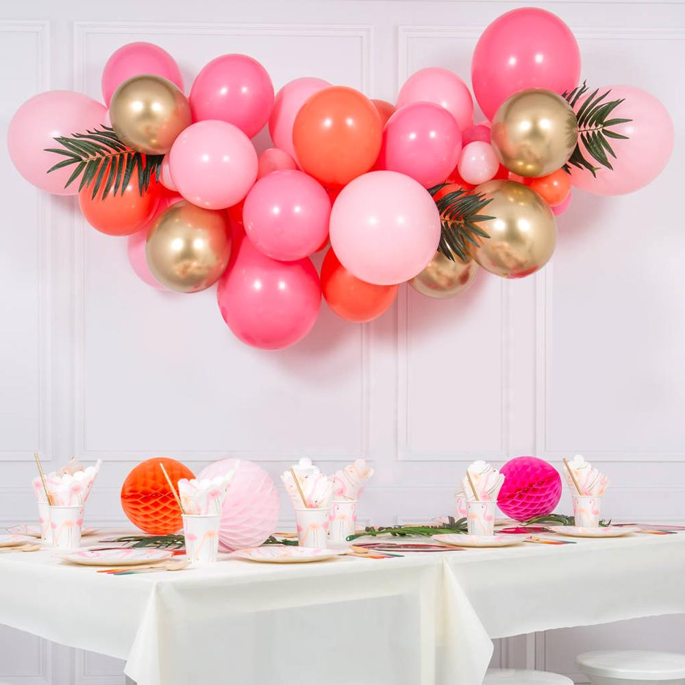 Balloon Cloud - Orange, Pink & Gold