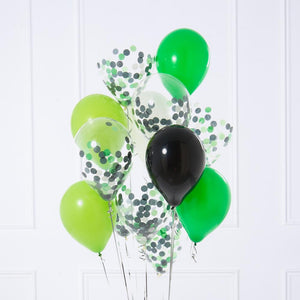 Confetti Balloon Bunch - Football