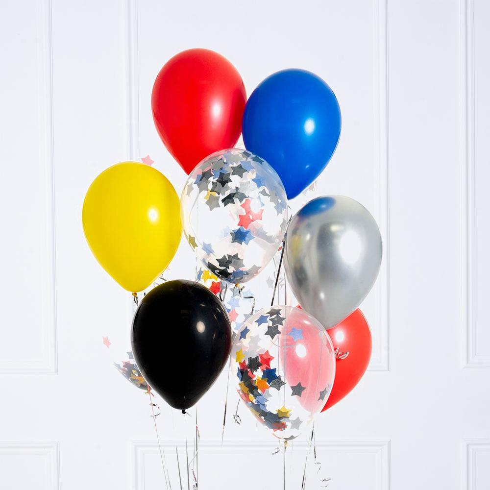 Confetti Balloon Bunch - Superhero
