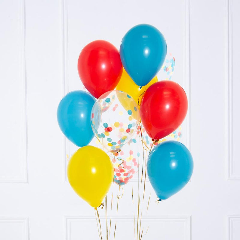 Confetti Balloon Bunch - Circus