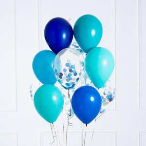 Confetti Balloon Bunch - Under the Sea