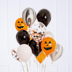 Confetti Balloon Bunch - Halloween