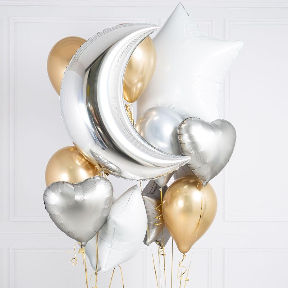 Crazy Balloon Bunch - Stylish Metallic