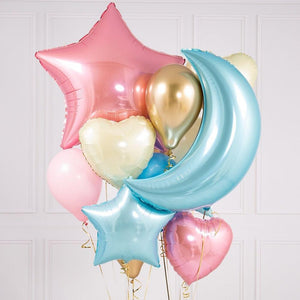Crazy Balloon Bunch - Gender Reveal