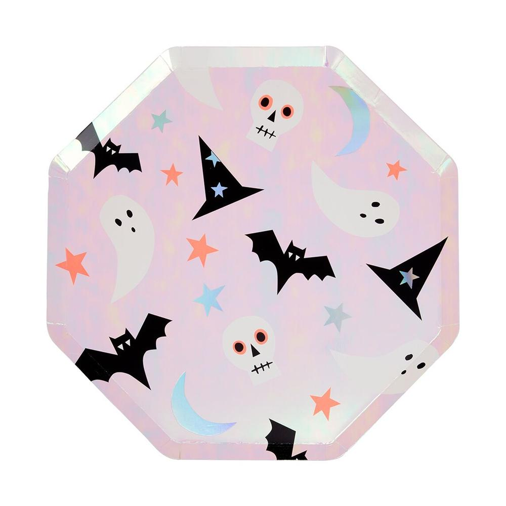 Halloween Icons - Paper Party Plates (x8)