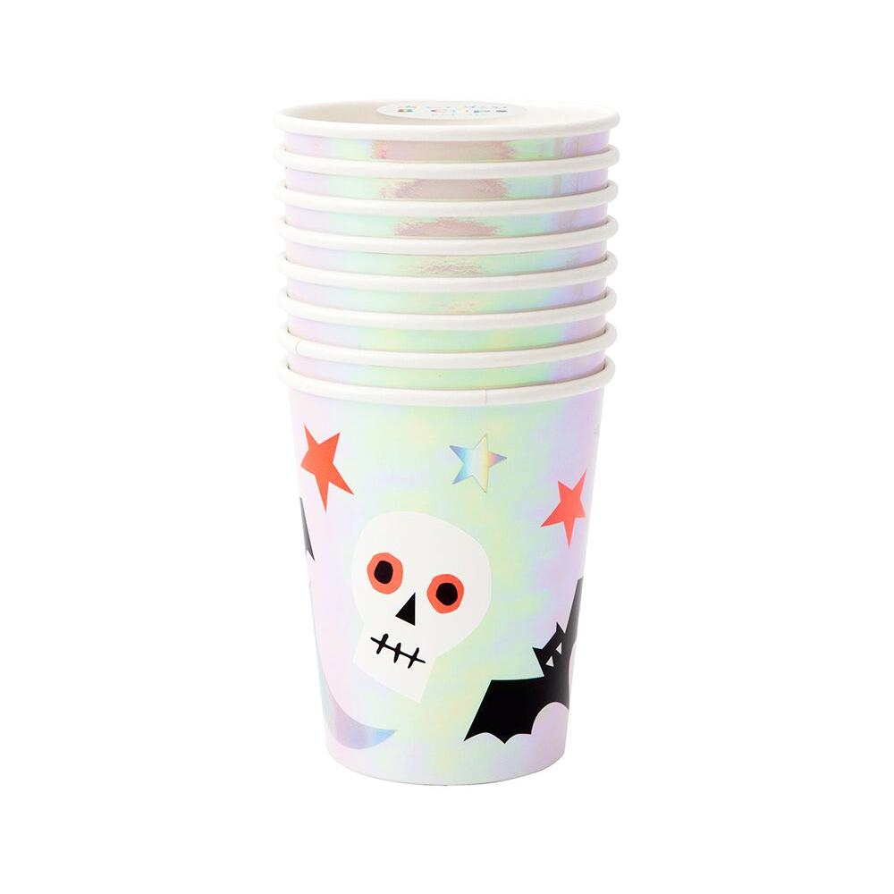 Halloween Icons - Paper Party Cups (x8)