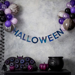 Let's Get Batty - Halloween Bunting & Balloons Party Set