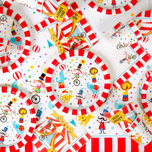 Circus Carnival Party Table Set